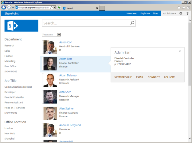 sharepoint-people-directory